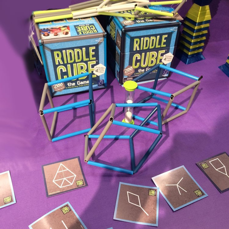 Riddle Cube 3D Shape Challenge Game - Educational Toys Planet