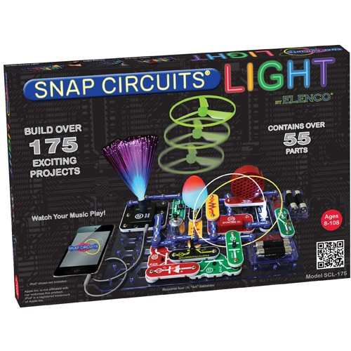 Toy 4 Wheelers For 8 Year Old Boys : Snap circuits light electronic science kit educational
