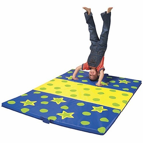 Tumbling Mat Kids Gym Folding Mat Educational Toys Planet