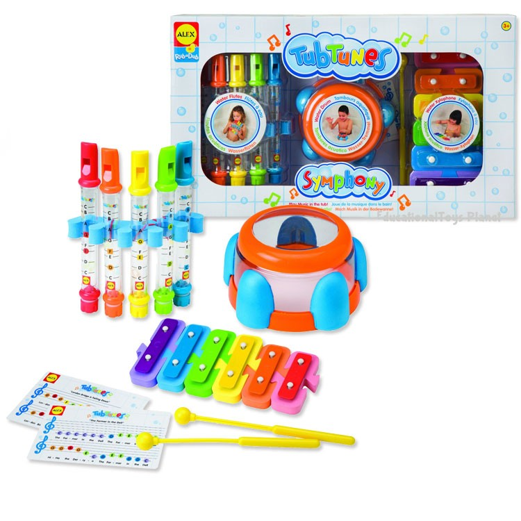 Tub Tunes Symphony Bath Toy - Educational Toys Planet
