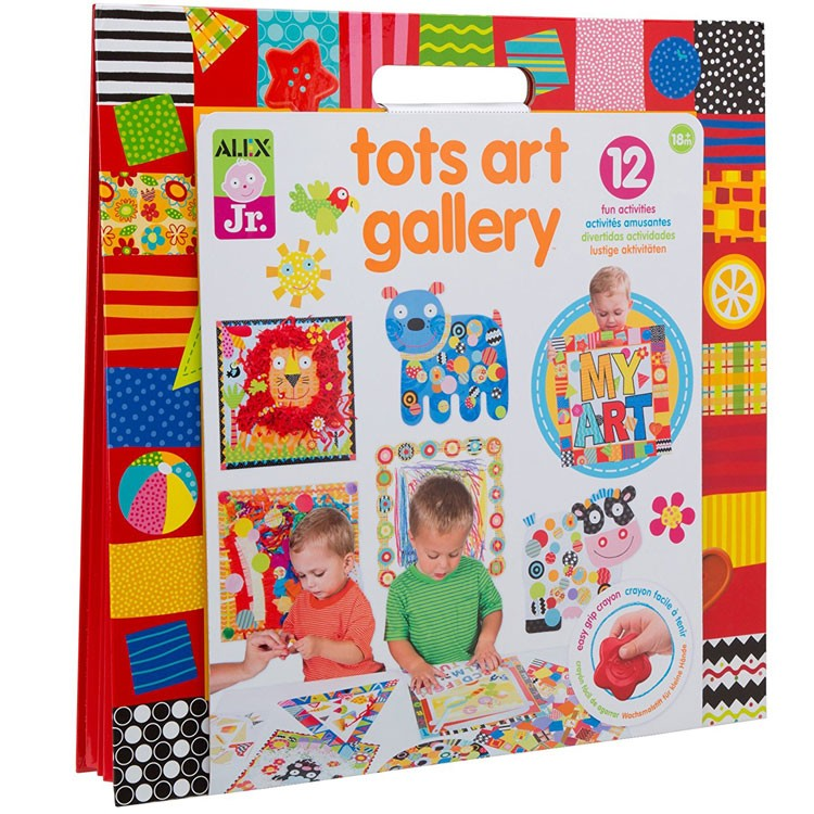 Art Educational Toys : Tots art gallery toddler craft kit educational toys planet