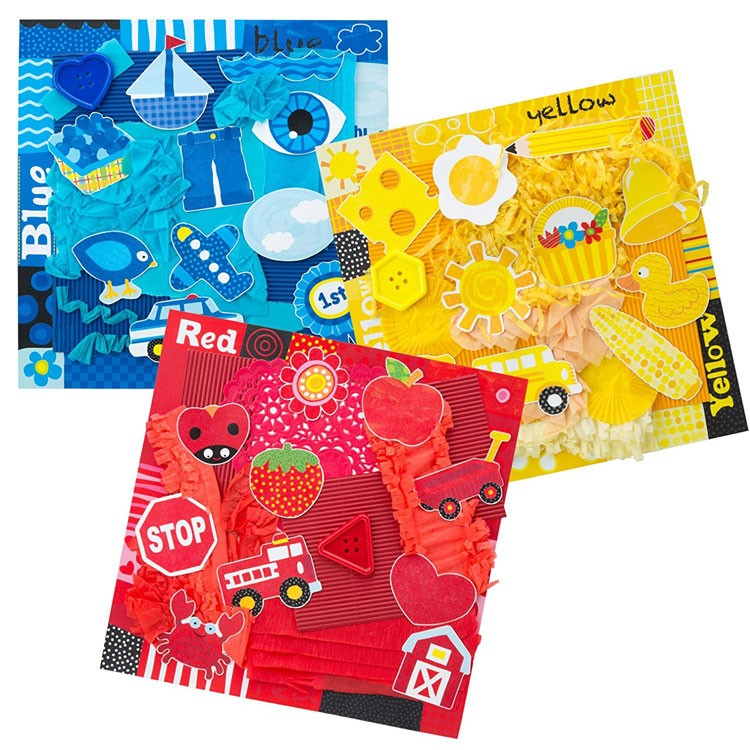 Toys For Tots Colors : Tots collage by color toddler craft kit educational toys