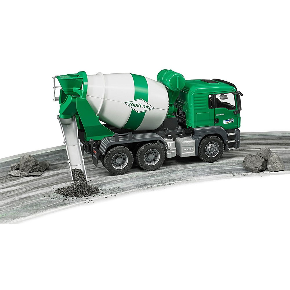Build Your Own Cement Mixer ~ Bruder man tgs cement mixer truck educational toys planet