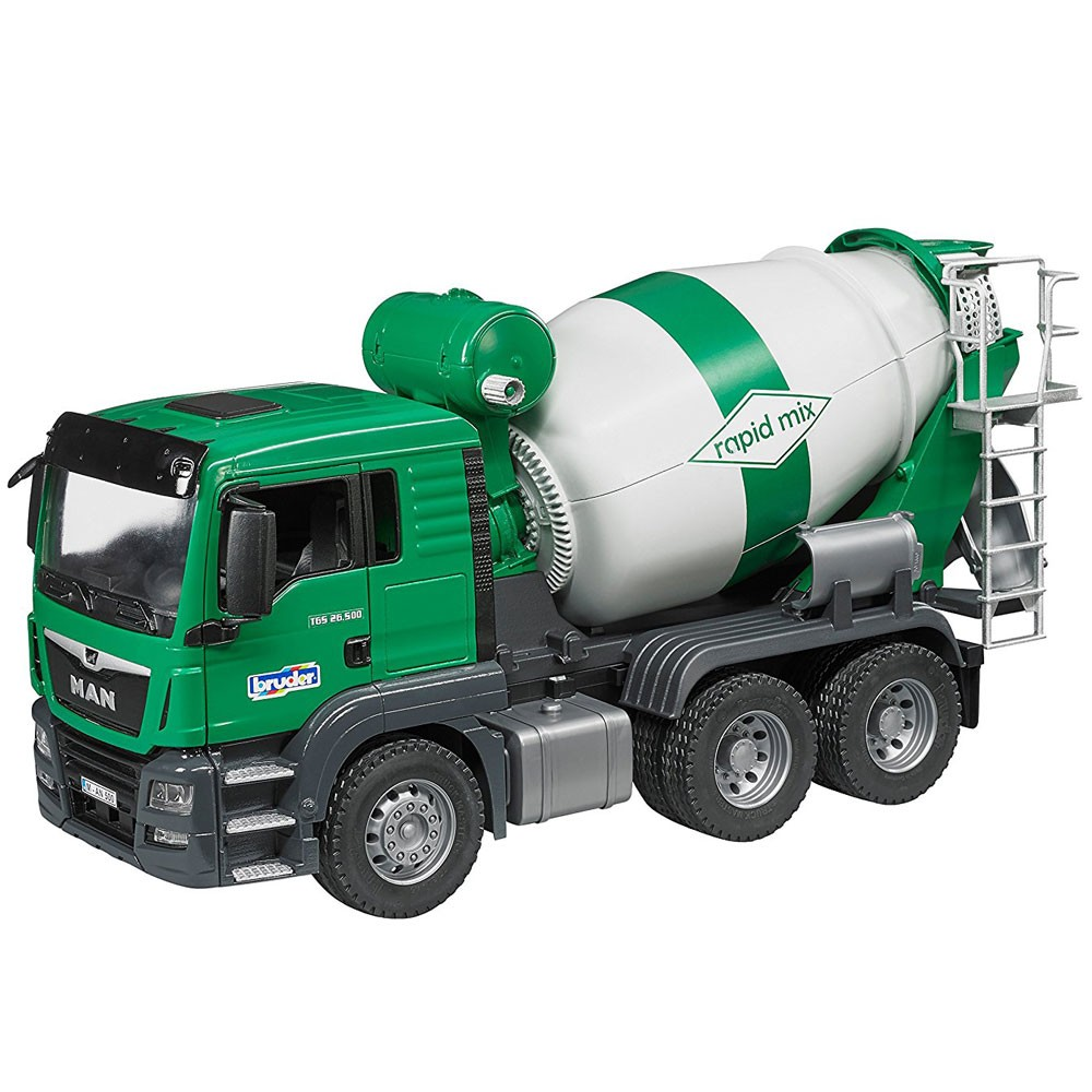 Mixer Truck Toy : Bruder man tgs cement mixer truck educational toys planet