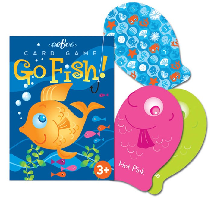Color go fish playing cards game educational toys planet for Play go fish online