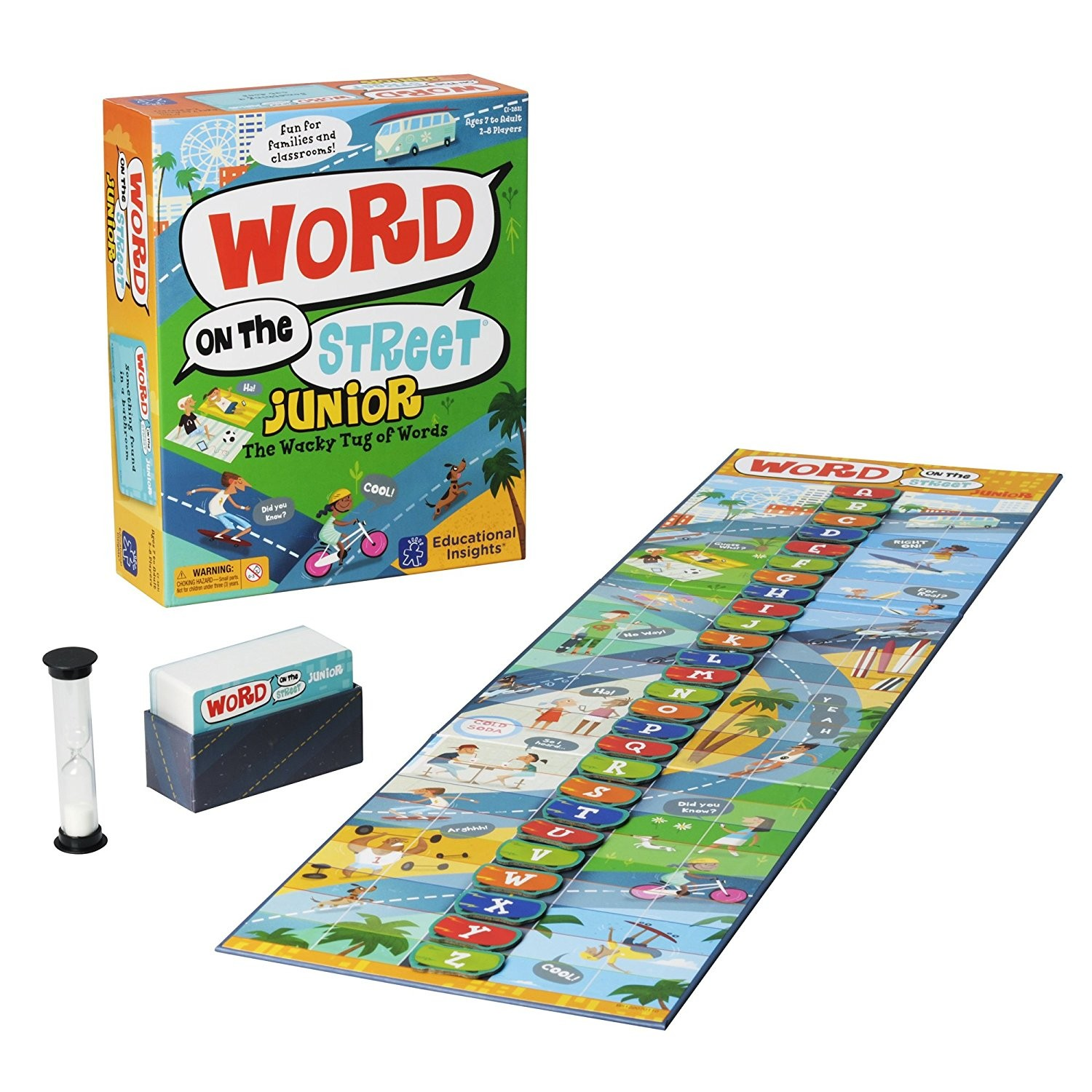 Toy Vocabulary Game : Word on the street junior vocabulary board game