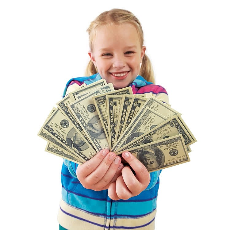 Play Money Toy : Realistic play money set educational toys planet