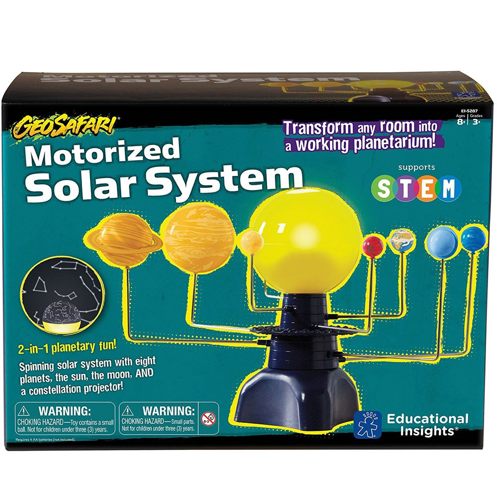 Solar System And Planet Toys : Geosafari motorized solar system in science toy
