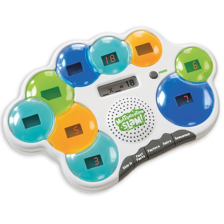 Electronic Educational Toys : Multiplication slam electronic math game educational