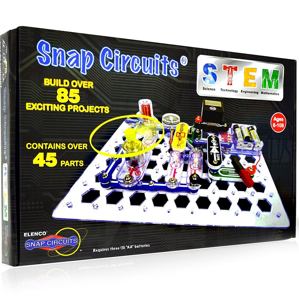 Snap Circuits STEM Electronic Projects Kit - Educational Toys Planet