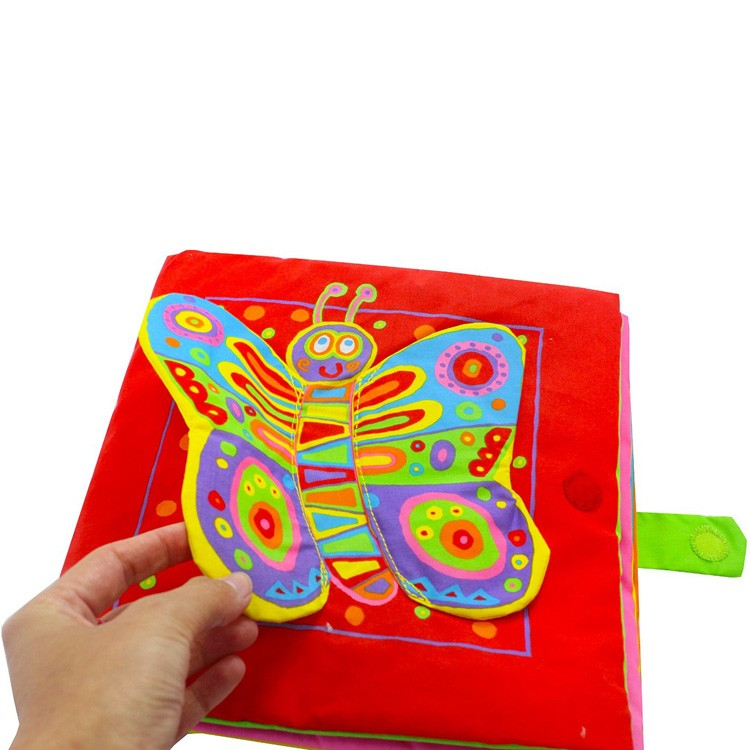 Touch And Feel Toys : Giant soft book baby touch feel toy educational toys