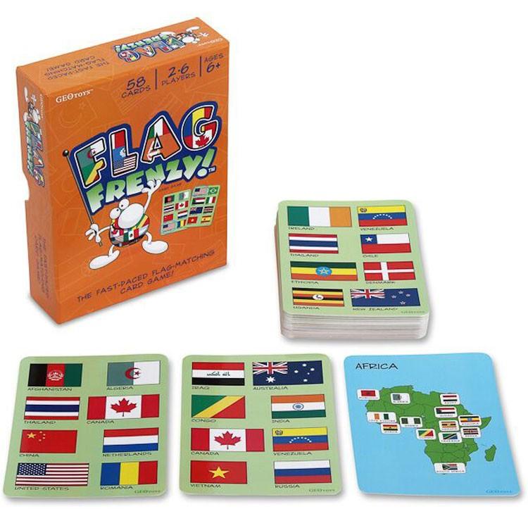 Flag Frenzy Learn Countries Of The World Flags Card Game - Countries of the world game