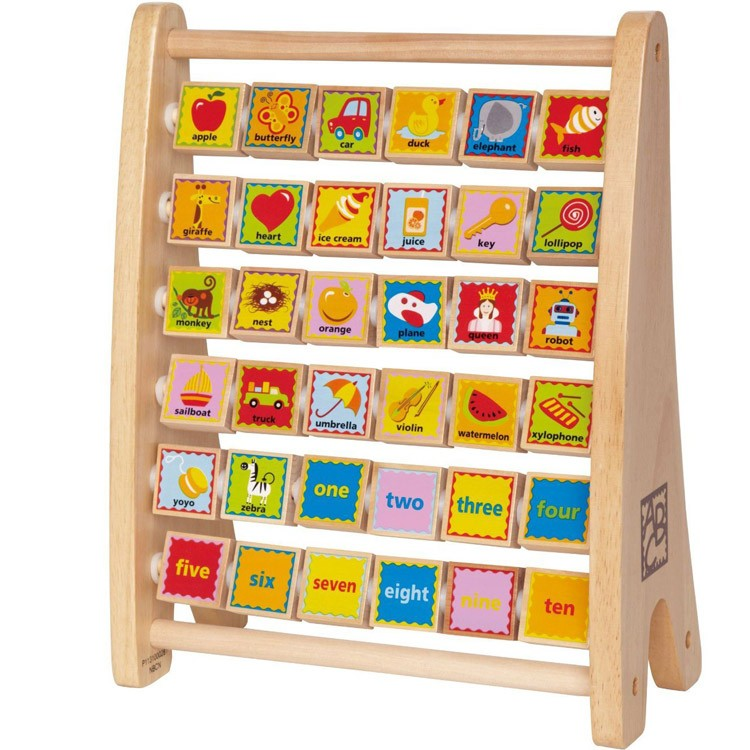 Alphabet Learning Toys : Alphabet abacus learning toy educational toys planet