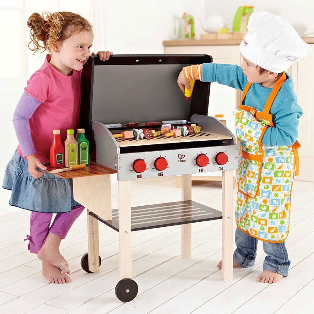 Kids Gourmet Grill Amp Bbq Food Play Set Educational Toys