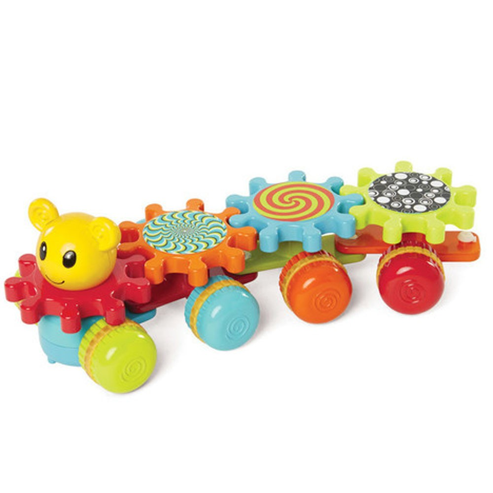 Gearapillar Spinning Gears Rolling Baby Toy - Educational Toys Planet