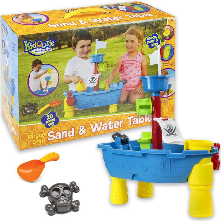 Pirate Ship Sand U0026 Water Play Table