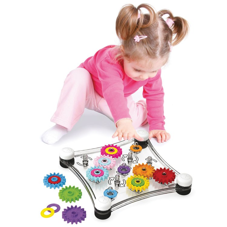 Quercetti Georello Junior Toddler Gears Toy - Educational Toys Planet