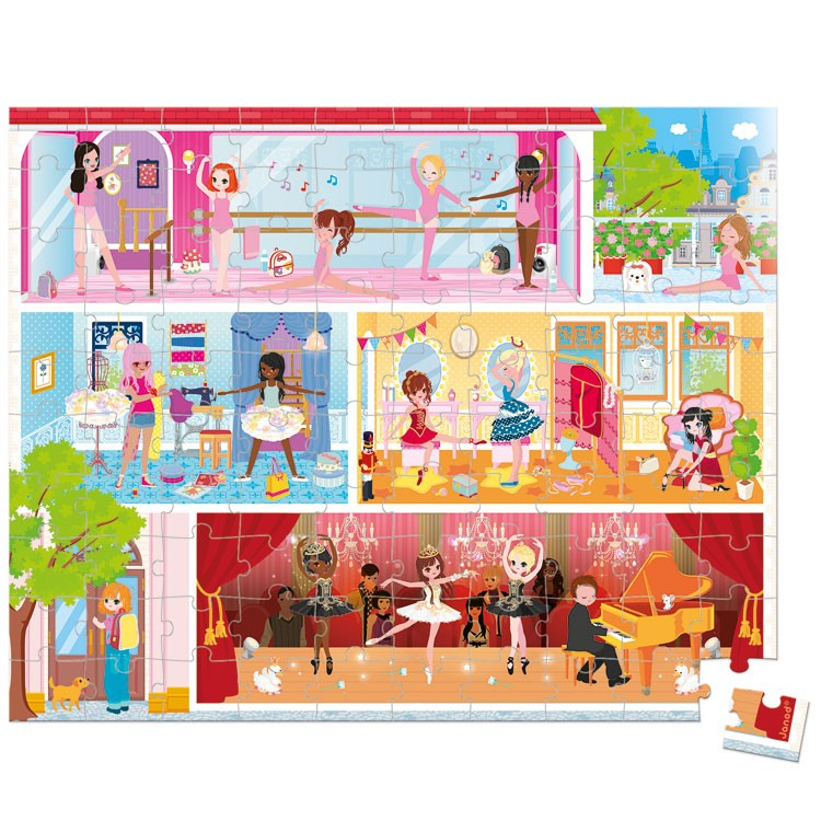 Dance Academy 100 Pc Ballet School Puzzle In A Gift Box