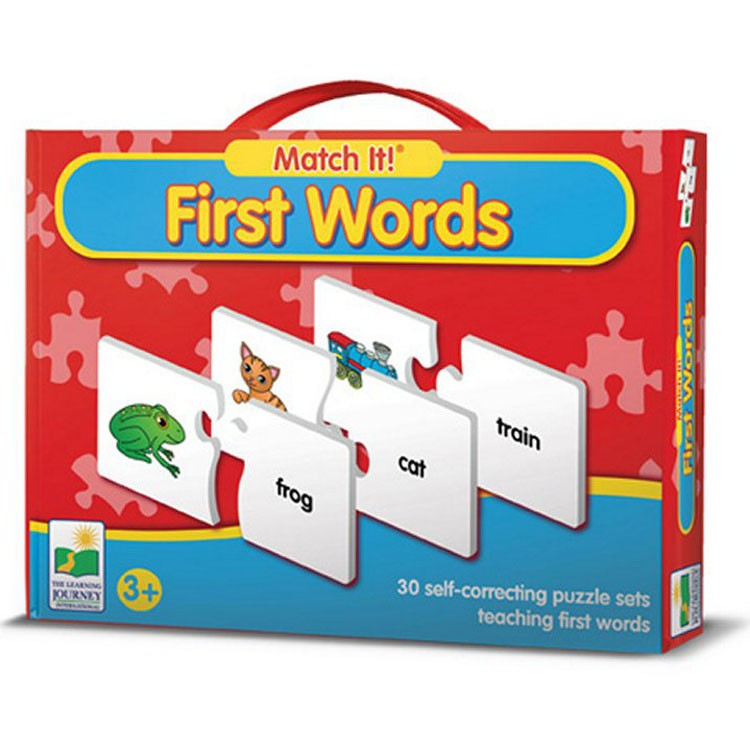 First Words Match It! Learning Puzzle - Educational Toys ...
