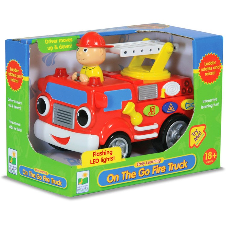 Electronic Learning Toys : Fire truck early learning toddler electronic toy