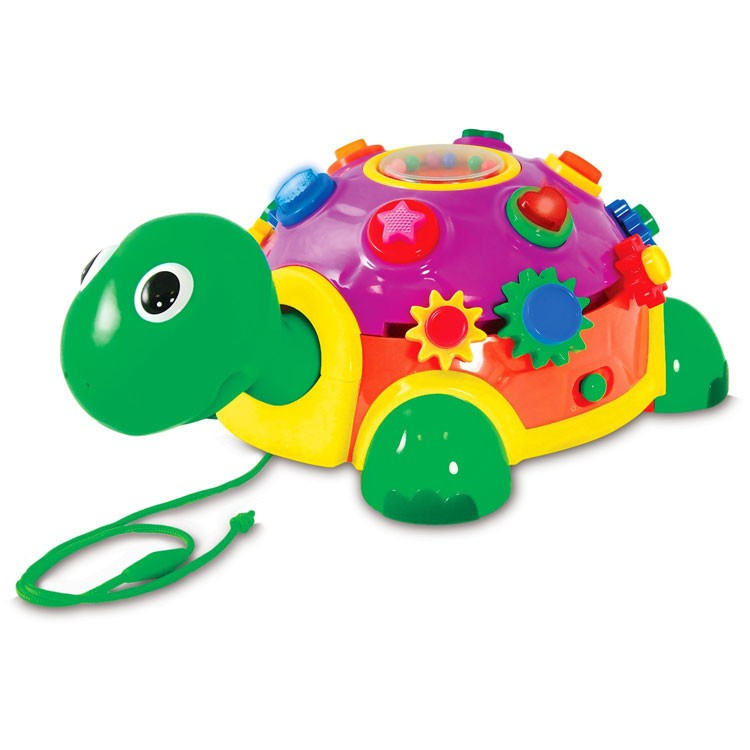 Electronic Learning Toys : Toddler activity turtle pull toy educational toys planet