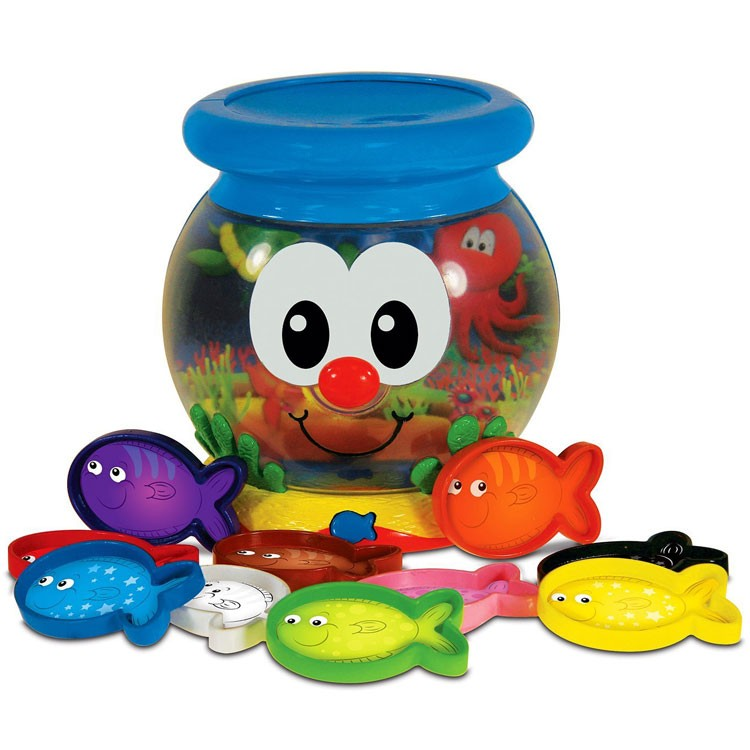 color fun fish bowl toddler electronic toy educational