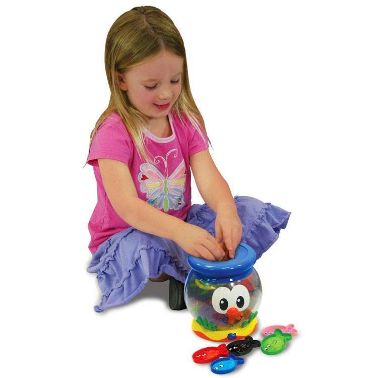 Toddler Learning Toys For 6 : Color fun fish bowl toddler electronic toy educational