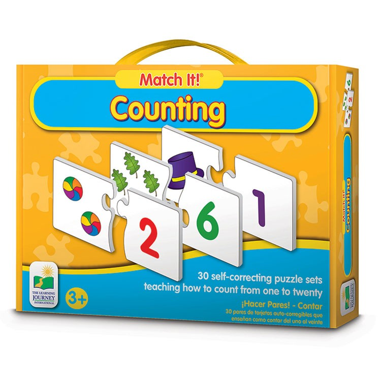 counting match it learning puzzle  educational toys planet