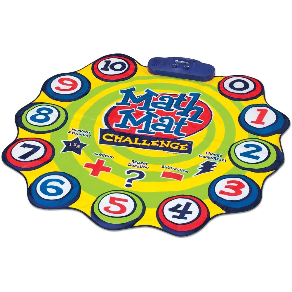 Math Mat Challenge Numbers Addition Subtraction Teaching