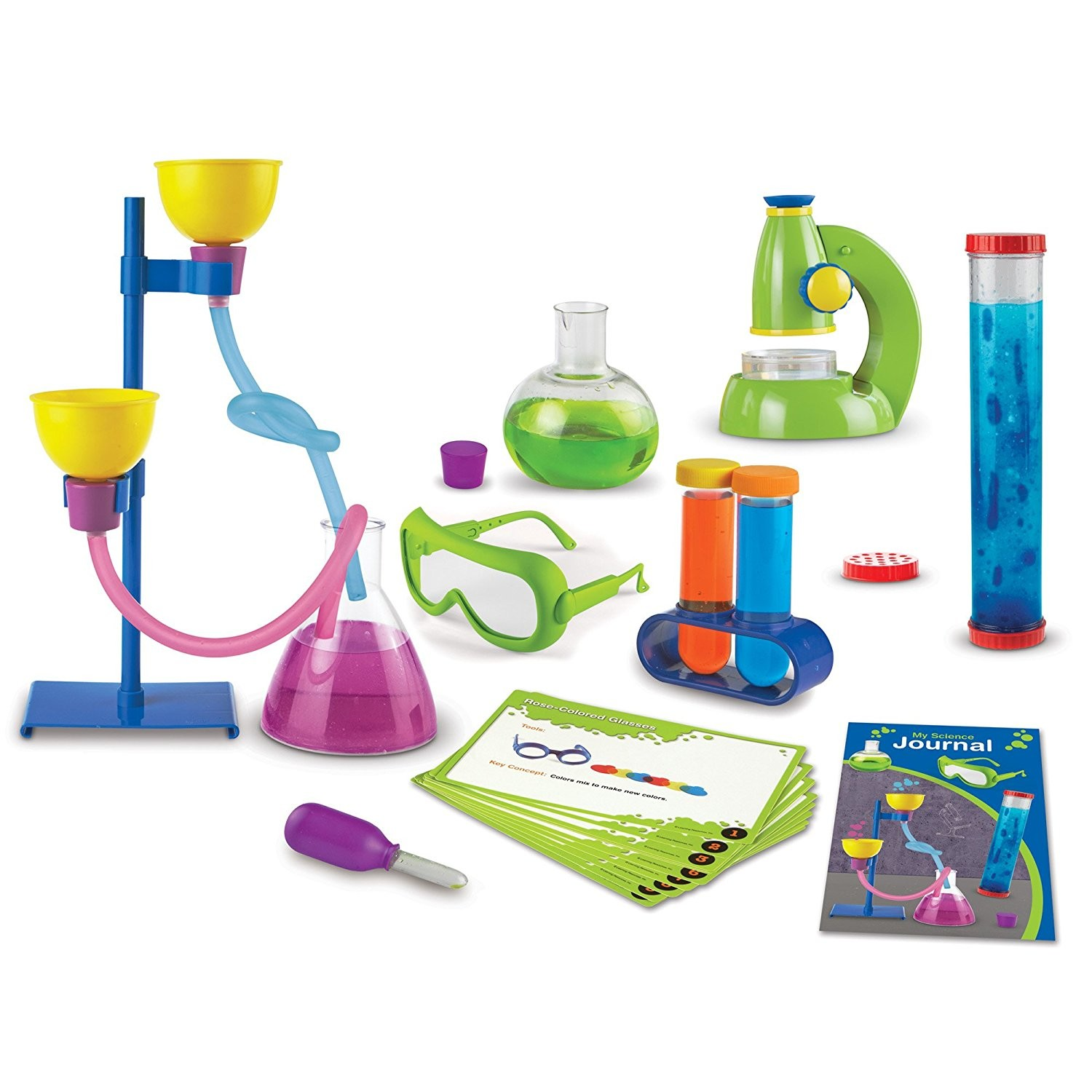 science lab learning primary resources deluxe toys kit pieces educational amazon