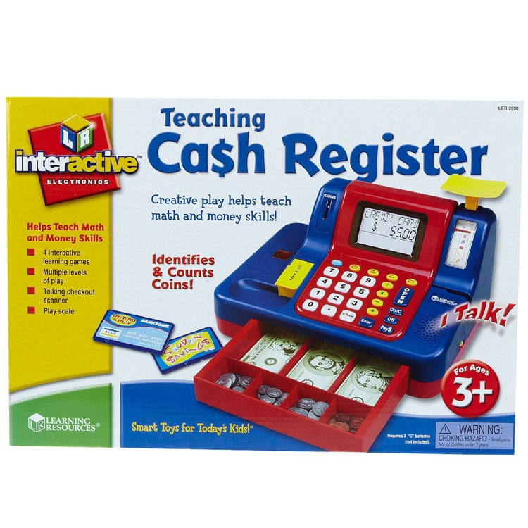 Toy Cash Register : Toy cash register teaching educational toys planet