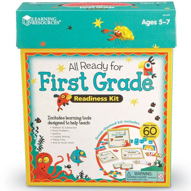Toys For Grade 1 : All ready for st grade readiness learning kit