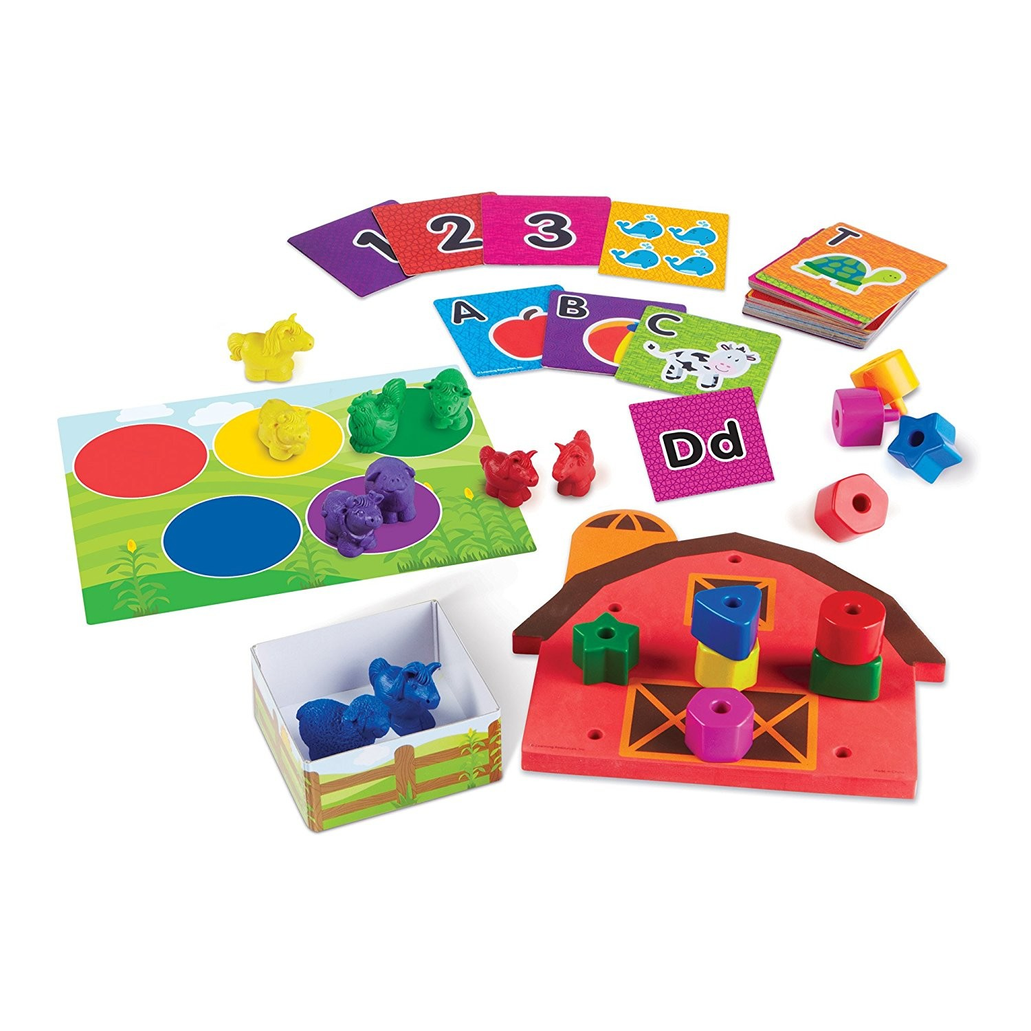 All Ready for Toddler Time Readiness Learning Kit Educational