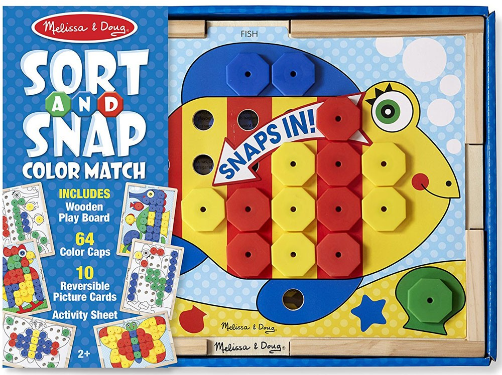 Sort & Snap Color Match Learning Toy - Educational Toys Planet
