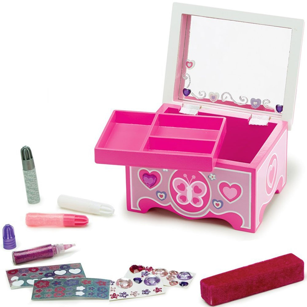 Jewelry Box Decorate Your Own Wooden Craft Educational Toys Planet