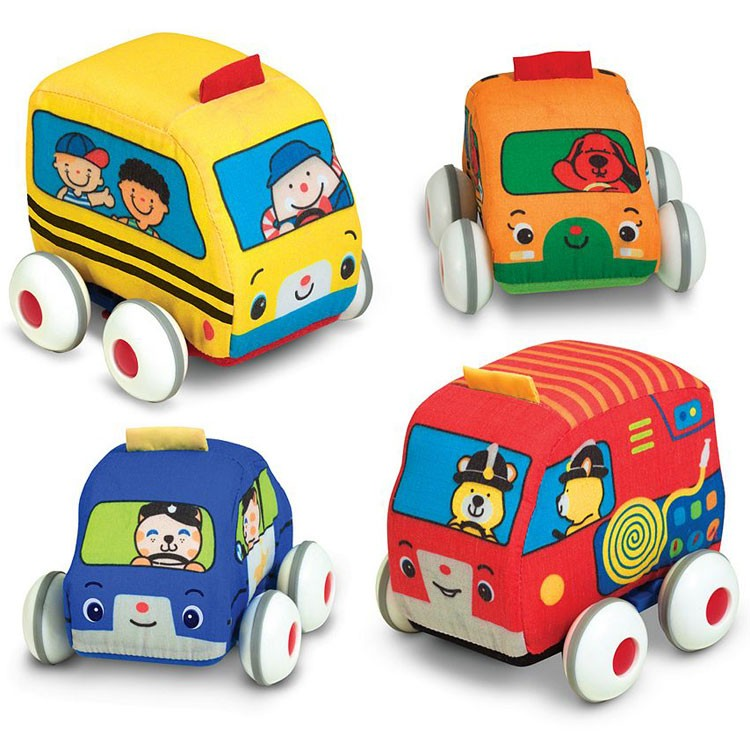 Pull Back Autos Toddler Car Set - Educational Toys Planet