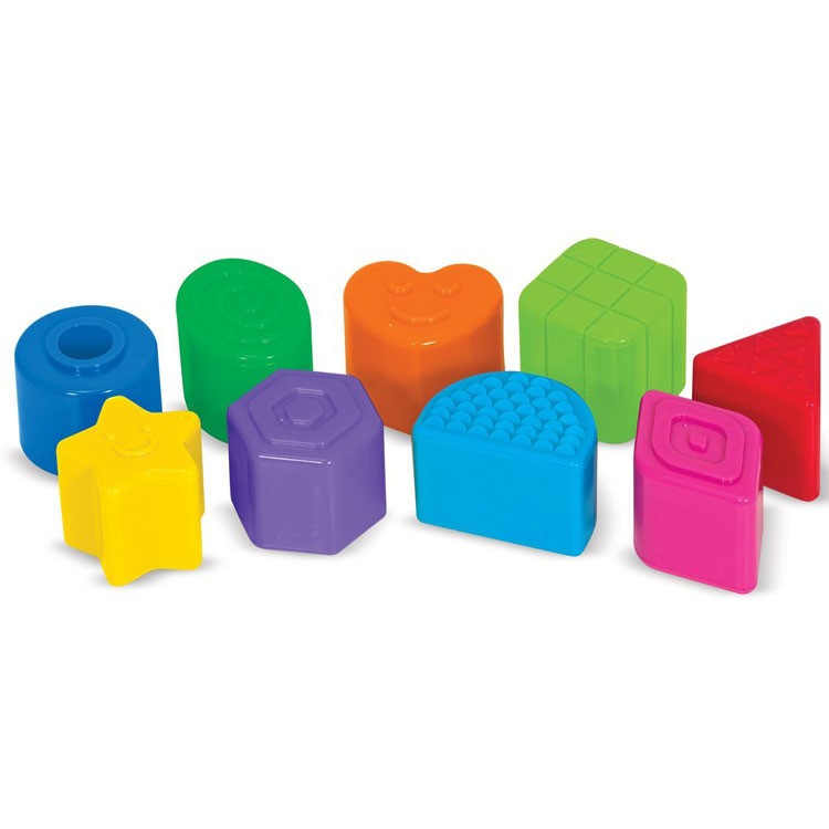 Manipulative Educational Toys : Take along shape sorter manipulative baby toy