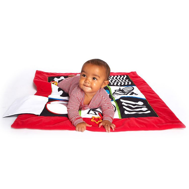 Wimmer Ferguson Crawl Amp Discover Mat Baby Cognitive Toy