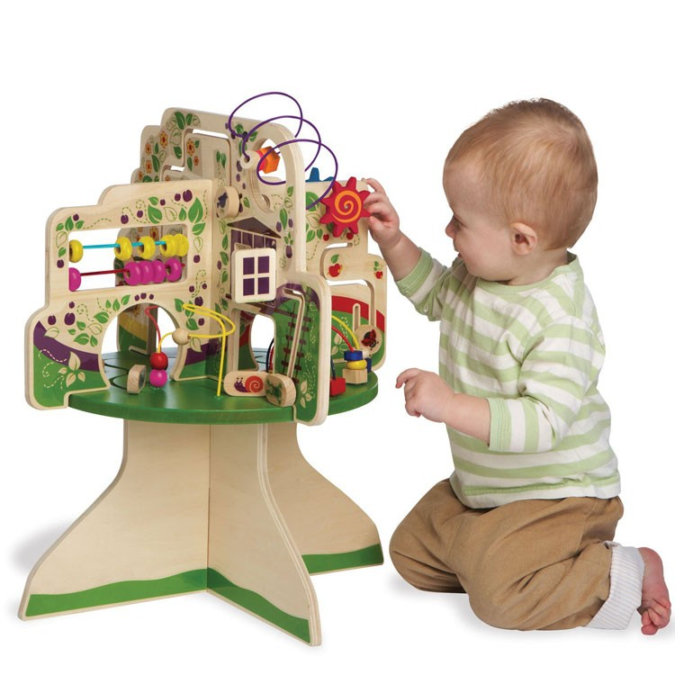 Tree Top Adventure Toddler Activity Table.