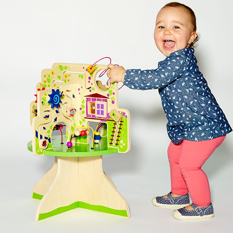 Tree Top Adventure Toddler Activity Table - Educational ...