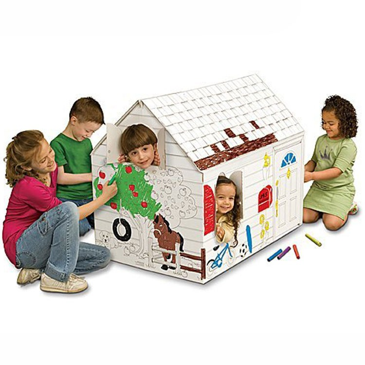 Coloring Playhouse - Educational Toys Planet-9225