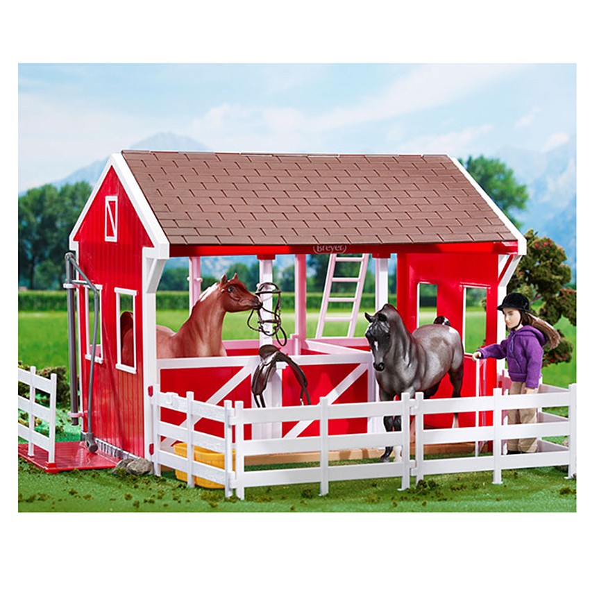 of breyer a love for the granddaughter horse ultimate barns stall to barn n create labor hours