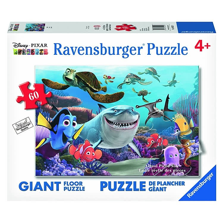 Smile Disney Pixar Finding Nemo 60 Pc Giant Floor Puzzle