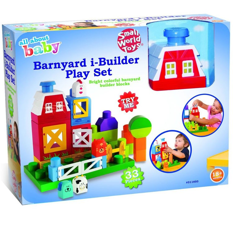Farm Toddler Toys Age Two : Toddler barnyard build play farm set educational toys