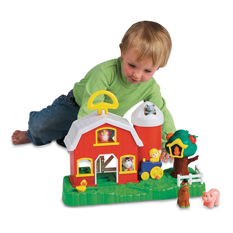 Farm Toddler Toys Age Two : Big fun activity barn farm toddler playset educational