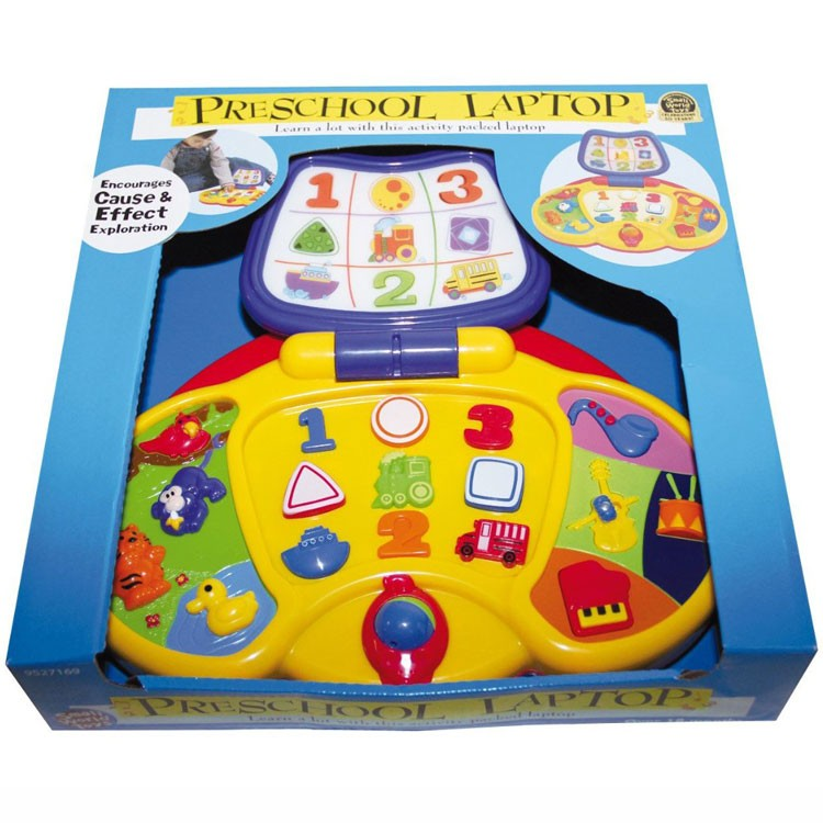 Electronic Learning Toys : Preschool laptop electronic activity toy educational