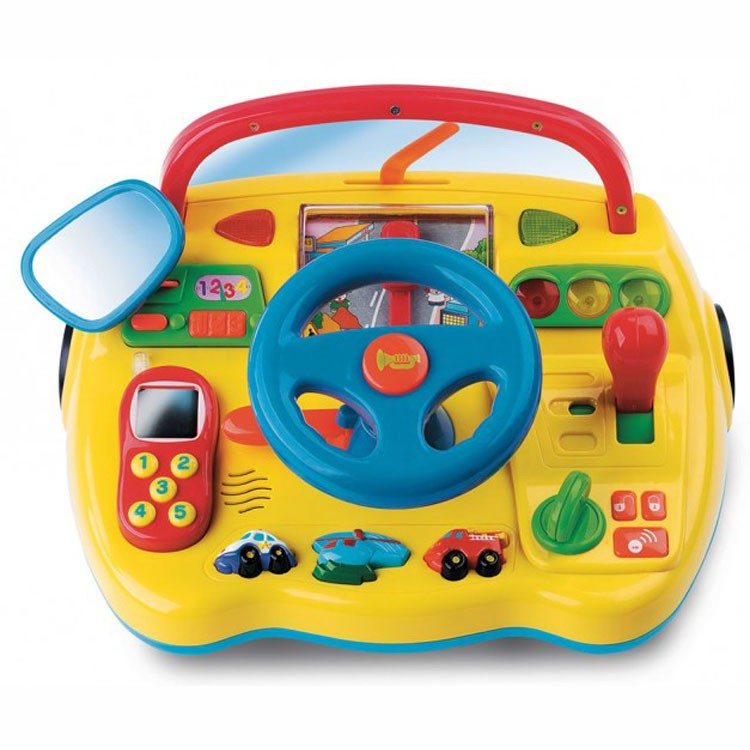 Car Seat Toy Steering Wheel : Electronic toy dashboard with steering wheel educational