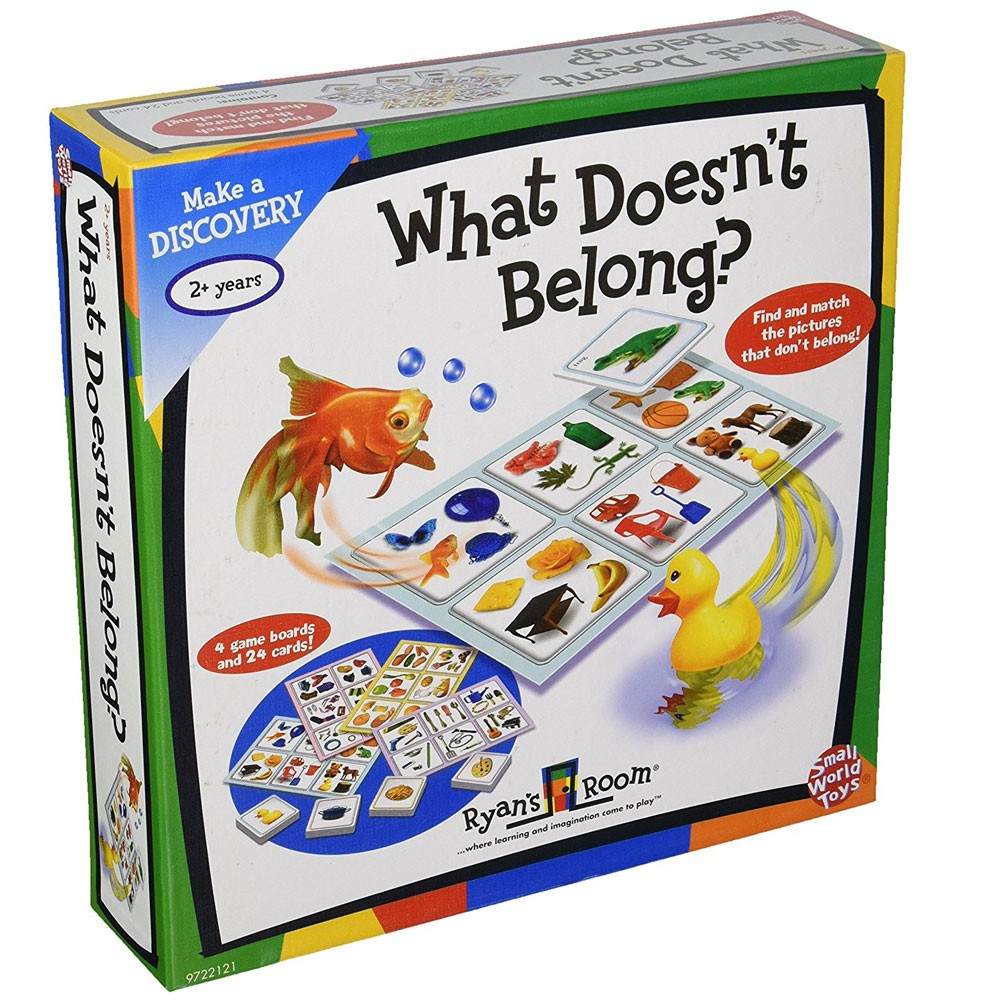 What Doesnt Belong Thinking Game - Educational Toys Planet-7032
