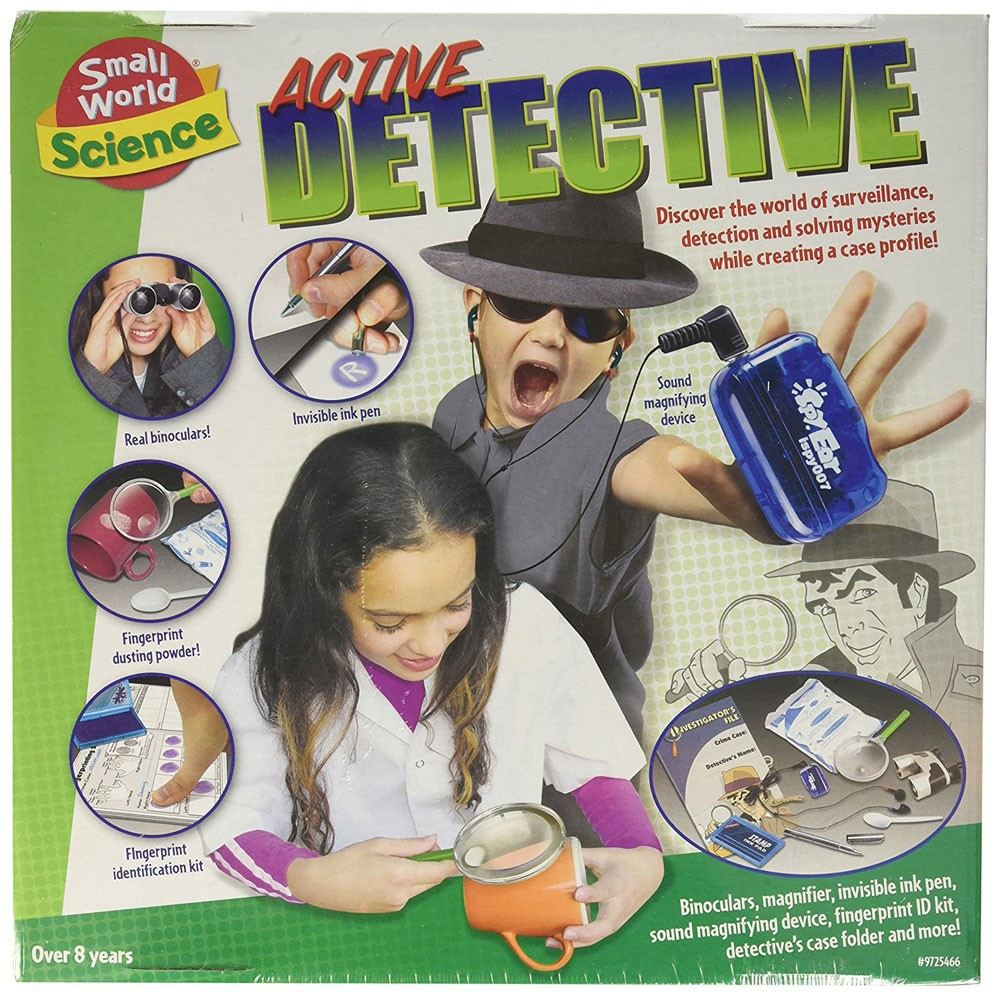Active Detective Forensic Science Kit Educational Toys Planet
