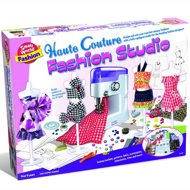 Kids Sewing Machine Fashion Studio Educational Toys Planet Beauteous Girls Sewing Machine